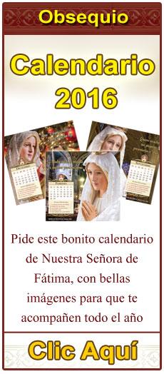 OBSEQUIO! Calendario 2016