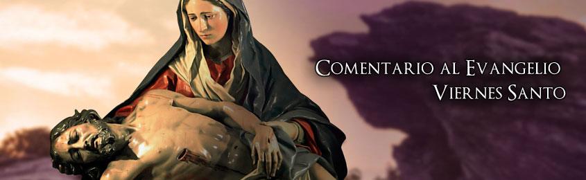"""Comentario al Evangelio – Viernes Santo de la Pasión del Señor- """"¿Qué provecho hay en mi Sangre?"""""""