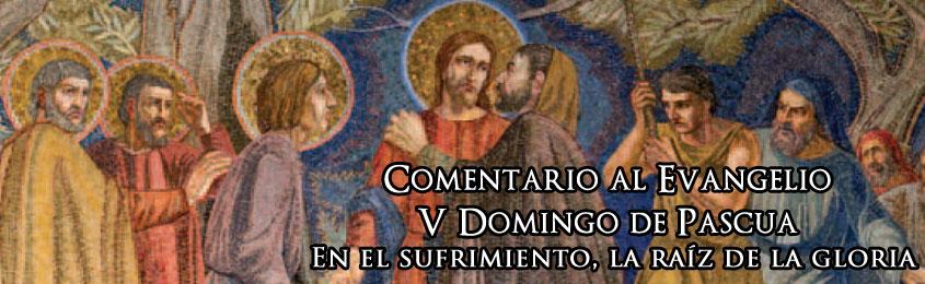 Comentario al Evangelio - V Domingo de Pascua – En el sufrimiento, la raíz de la gloria