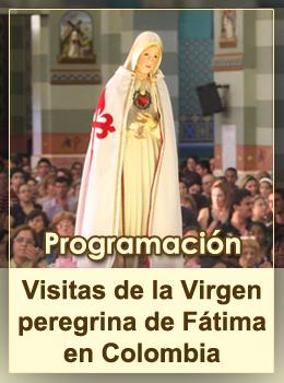 Peregrinaciones Imagen Ntra Sra de Fatima - Colombia