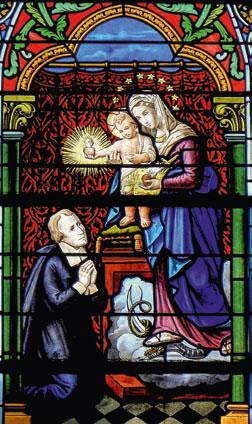San Juan Eudes y los Sagrados Corazones Iglesia San Pedro de Dourdain, Francia.