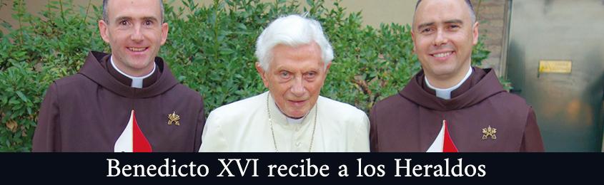 Benedicto XVI recibe a los Heraldos