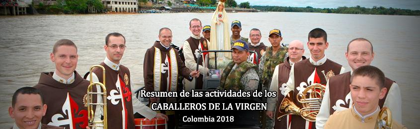 Resumen de Actividades de los HERALDOS DEL EVANGELIO - CABALLEROS DE LA VIRGEN - Colombia 2018