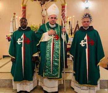 Nuncio Apostólico en Mozambique, visita los Heraldos del Evangelio