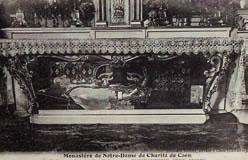 Reliquias de San Juan Eudes – Convento de Nuestra Señora de la Caridad, Caen (Francia).