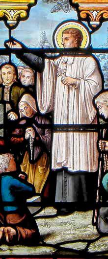 San Luis María Grignion de Montfort – Iglesia de San Pedro, Domagné, Francia
